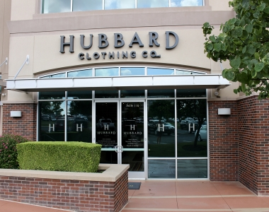 Tenant Build-Out | Hubbard Clothing
